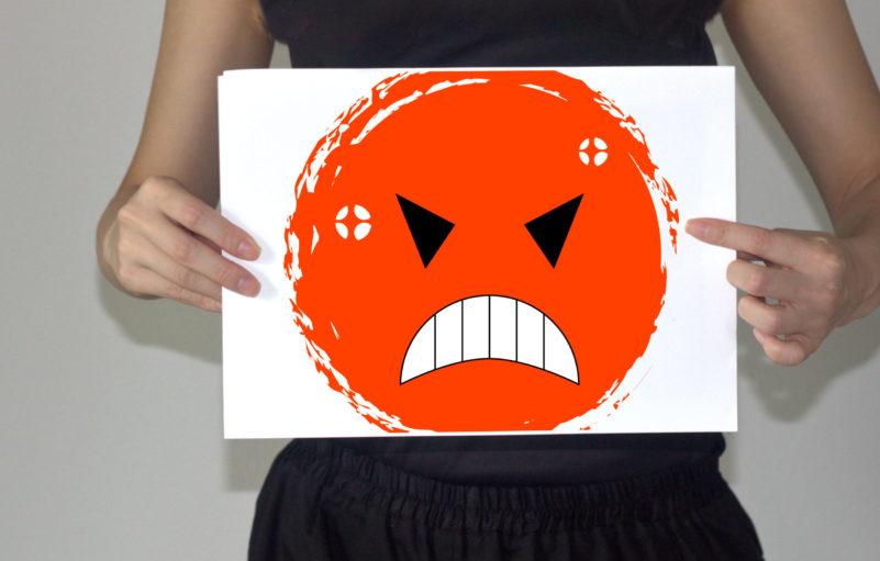 怒りっぽい人